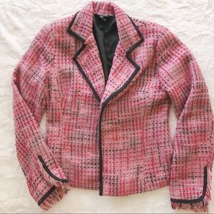 Fantasy Boucle Tweed Blazer Jacket